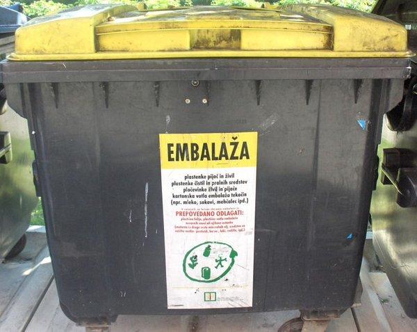 Sortiranje odpadkov
