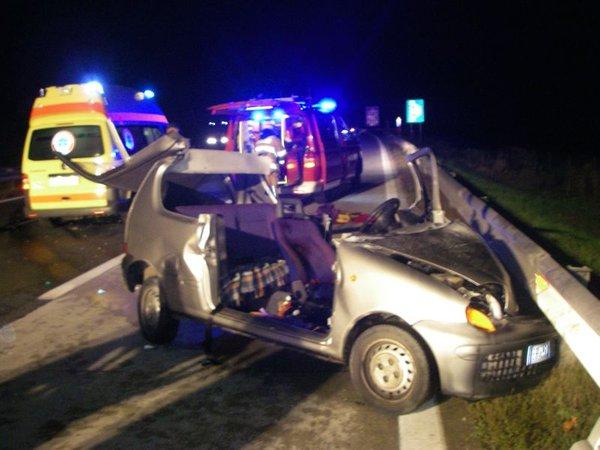 Prometna nesreča na gorenjski avtocesti
