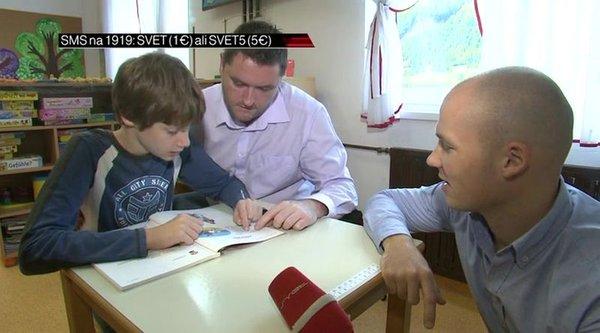 Jan Golja pri avtističnih otrocih