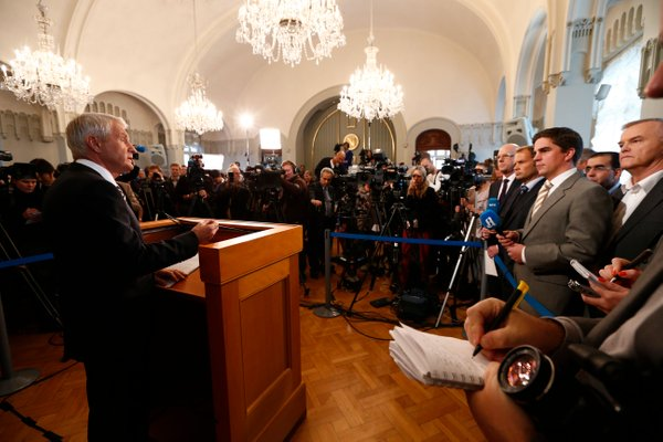 Razglasitev Nobelove nagrade za mir