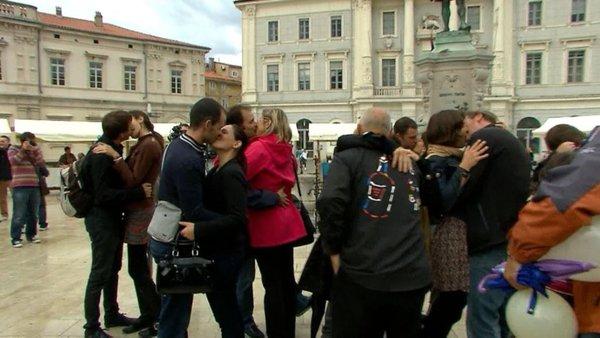 Rekord v poljubljanju