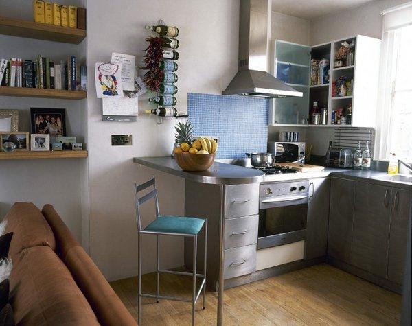 Majhno stanovanje - odprt plan