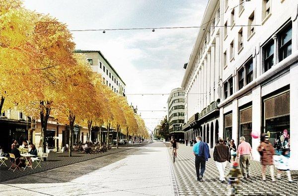 Prenovljena Slovenska cesta v Ljubljani