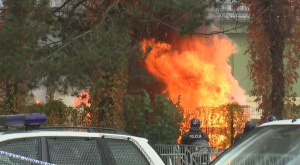 Požar v Brežicah - 1