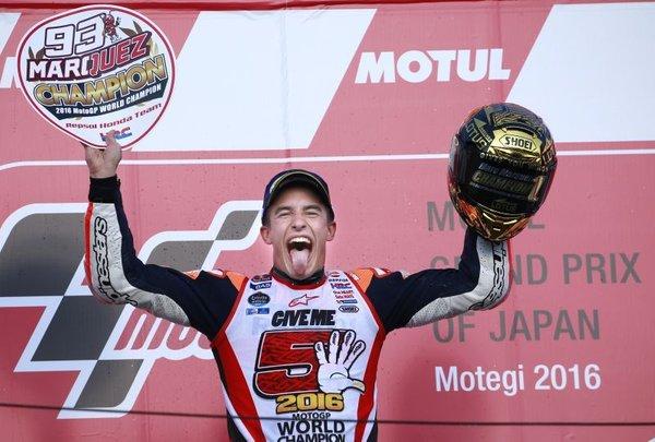 Marc Marquez svetovni prvak v Motegiju - 4