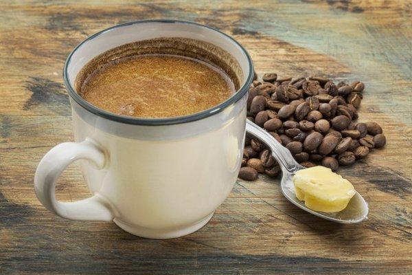 kava z maslom