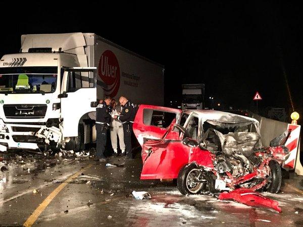 prometna nesreča v kraju Stanošina