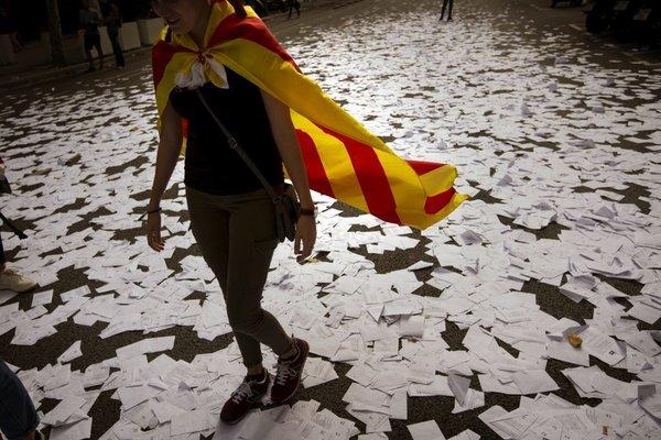 Protesti v Kataloniji - 2