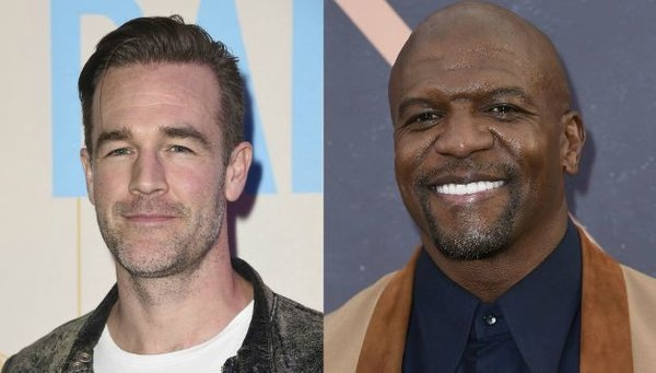 James Van Der Beek in Terry Crews