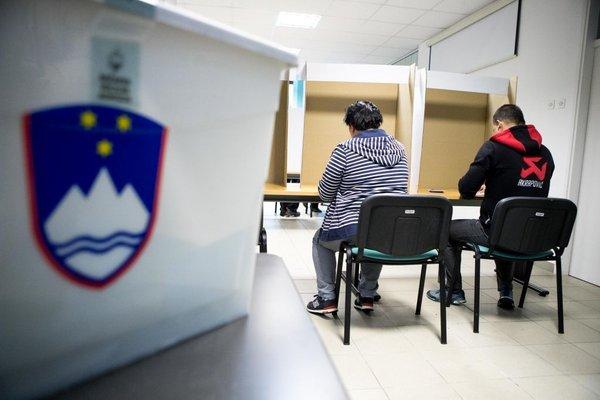 Volivci oddajajo glas v Ljubljani - 1