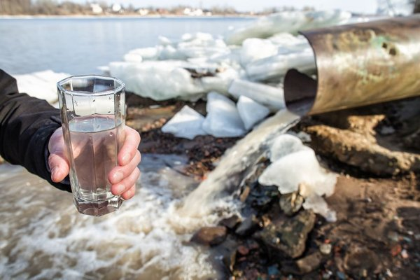 Onesnažena voda