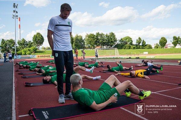 Olimpija trening