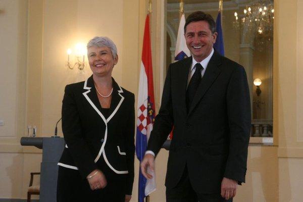 Drugo srečanje Pahor-Kosor-7