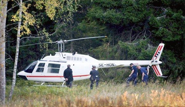 Ukraden helikopter