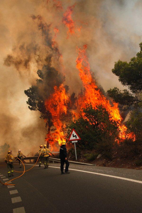 Požar v Španiji - 8