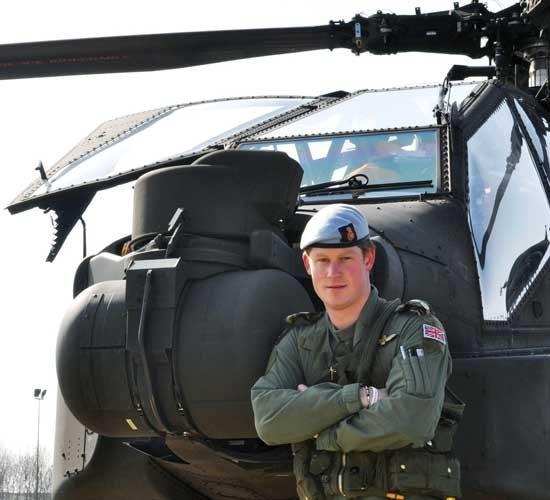 Harry v Apacheju