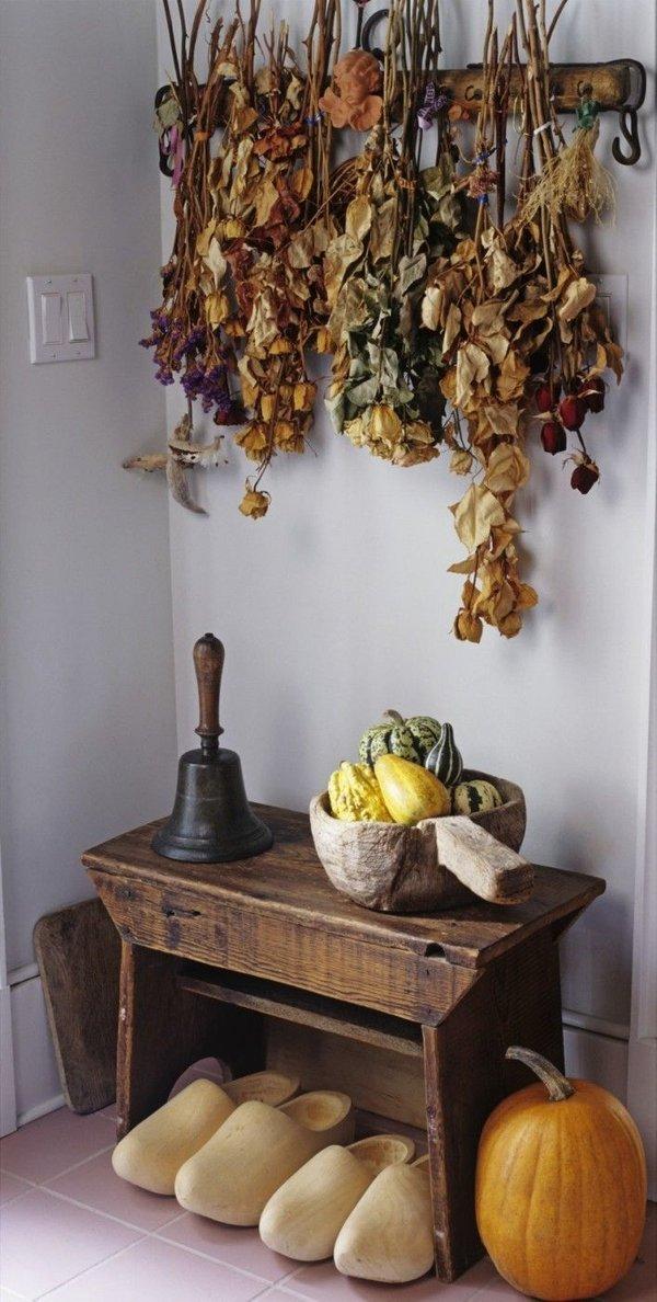 Jesenski dekor v domu