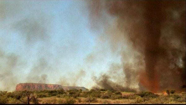 Ognjeni tornado v Avstraliji