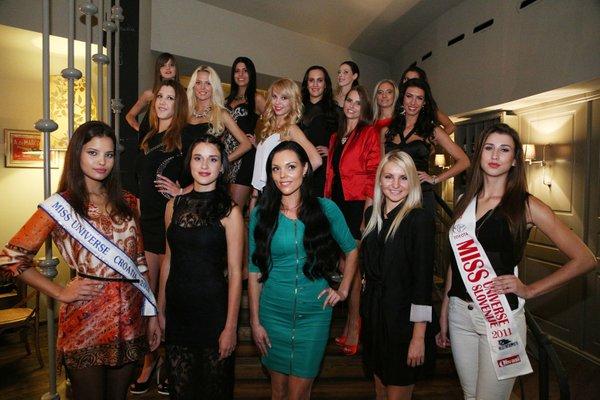 Miss Universe Slovenija 2013 (finalistke)