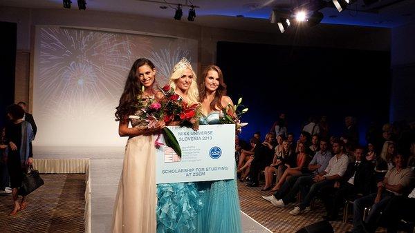 Miss Universe Slovenija 2013 (prve tri)