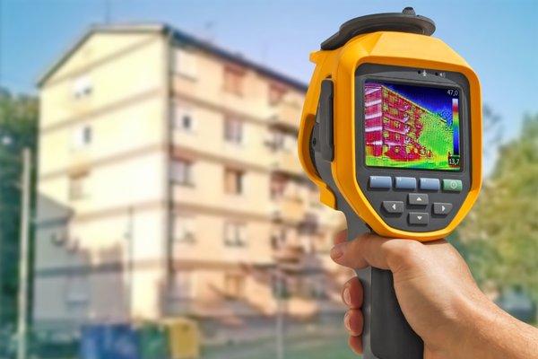 Merjenje toplotnih izgub stavbe