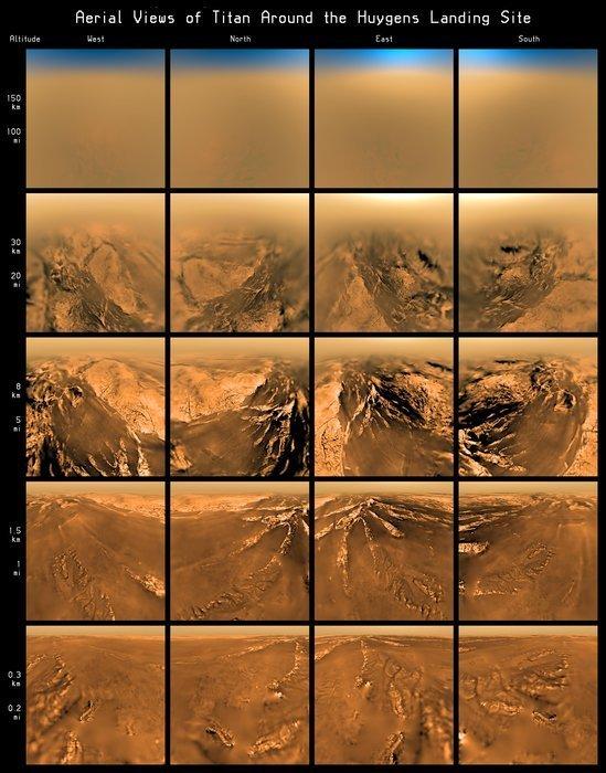 Površje na Titanu - 1