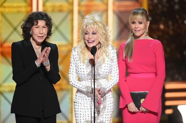 Lily Tomlin, Dolly Parton in Jane Fonda