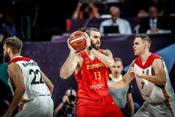 Marc Gasol Španija Nemčija