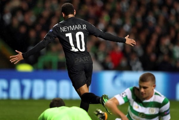 Neymar PSG (vs Celtic)