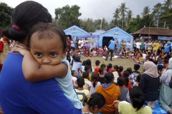 Evakuacija na otoku Bali