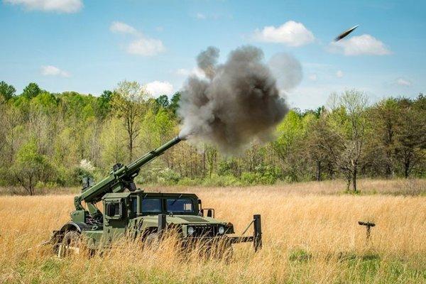 Hawkeye 105mm Weapon System
