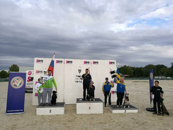 Podelitev 23. svetovnega prvenstva IRO