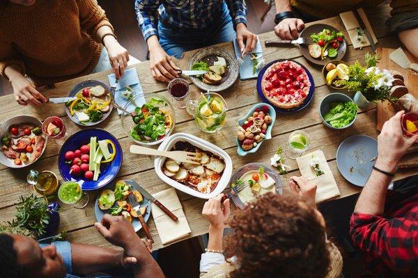 moški in hrana