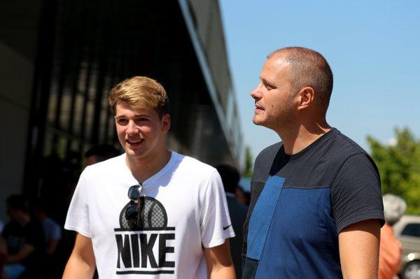 Rašo Nesterović in Luka Dončić