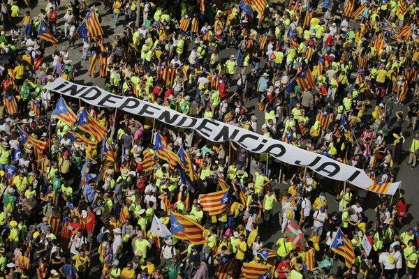 Demonstracije za neodvisnost Katalonije
