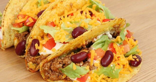 Tacos z govedino