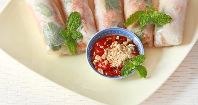 Vietnamski zelenjavni zvitki