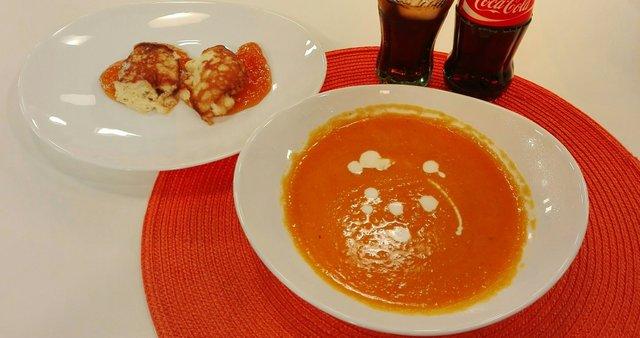 Bučna juha in solnograški žličniki