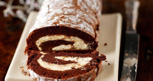 Čokoladna rulada brez moke