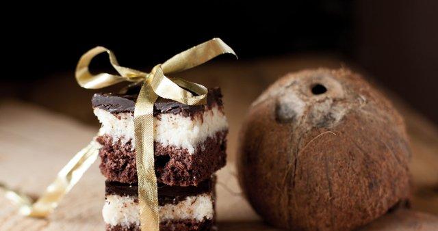 Čokoladno-kokosove kocke