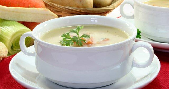 Zelenjavna kremna juha