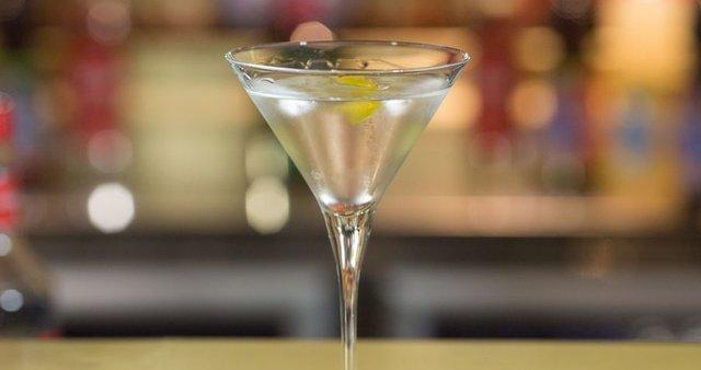 Martini v kozarcu
