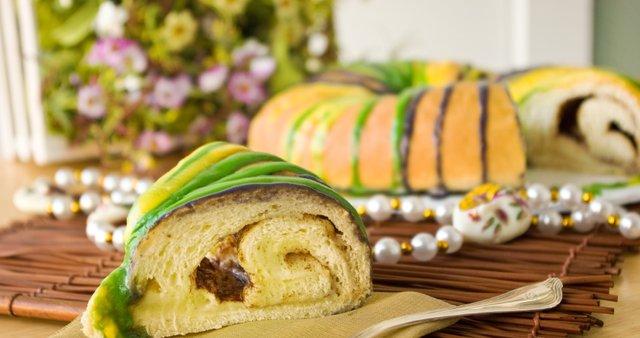 Kraljevi kolač za Mardi Gras
