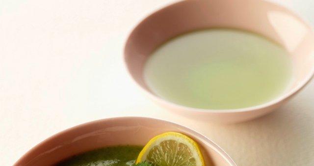 Očiščevalna zelena juha