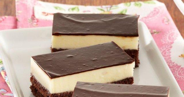 Čokoladne rezine z masleno kremo