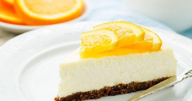 Cheesecake s pomarančami