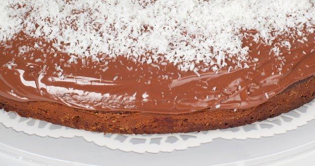Čokoladno-kokosova torta