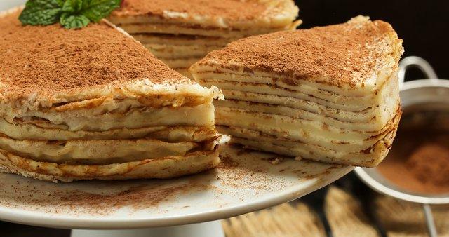 Tiramisu torta s palačinkami