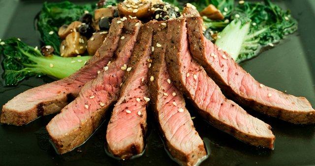 Steak po azijsko