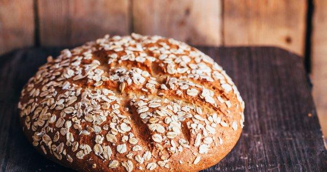 Ovseni kruh s sodo